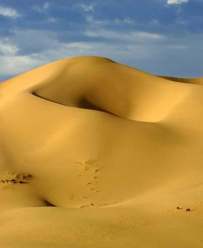 יום 6 - מסרים מן העבר וחול. הרבה חול ....