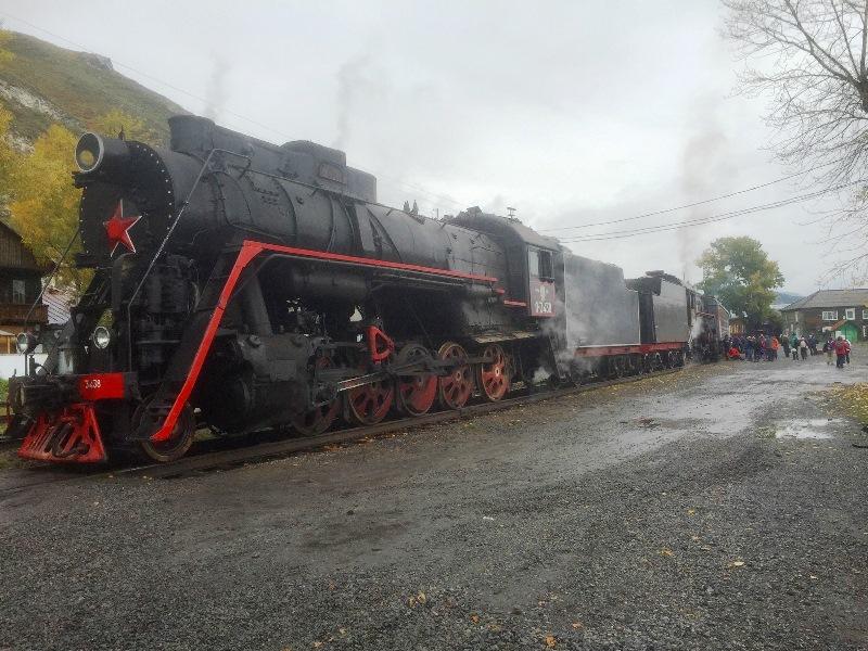 ברכבת הטראנס סיבירית מאולאן בטאר למוסקבה