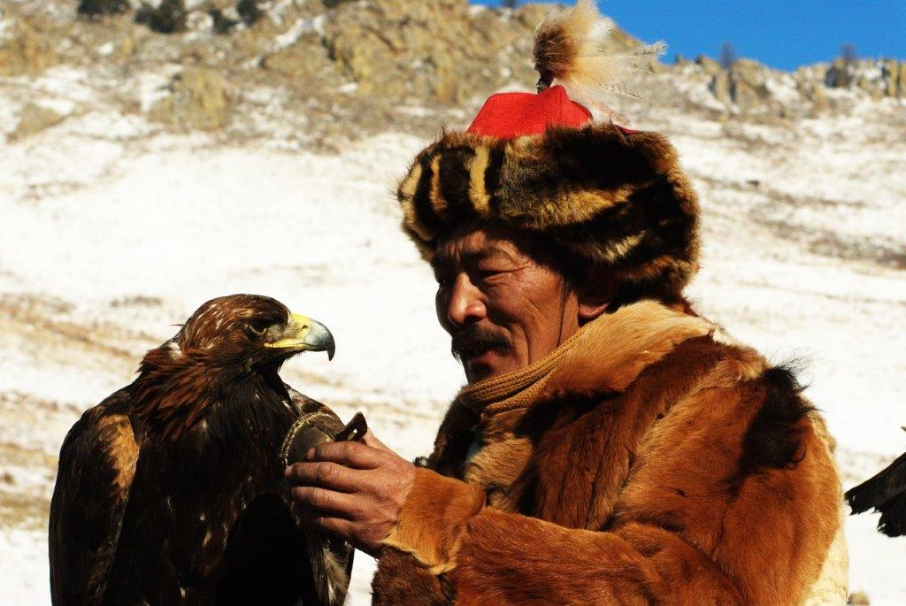 על פסטיבל העיט הזהוב במונגוליה