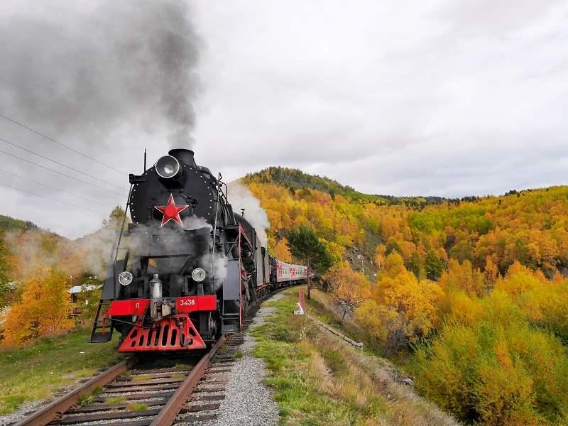 בעקבות הרכבת הטראנס סיבירית