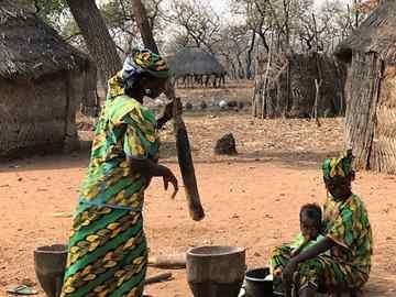 טיול למערב אפריקה - גאנה, טוגו, בנין-פולחני רוחות וטקסי וודו, חיים היום בממלכות העבר