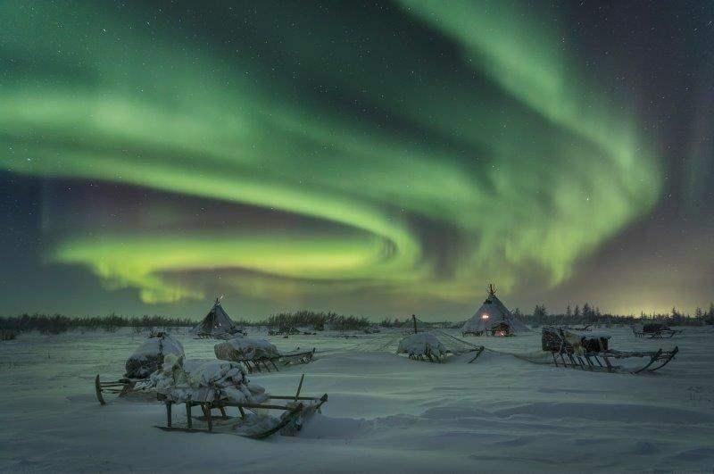 טיול אל קצה סיביר - ליל סדר בפסטיבל נוודי איילי הצפון ו(אולי...) זוהר הצפון